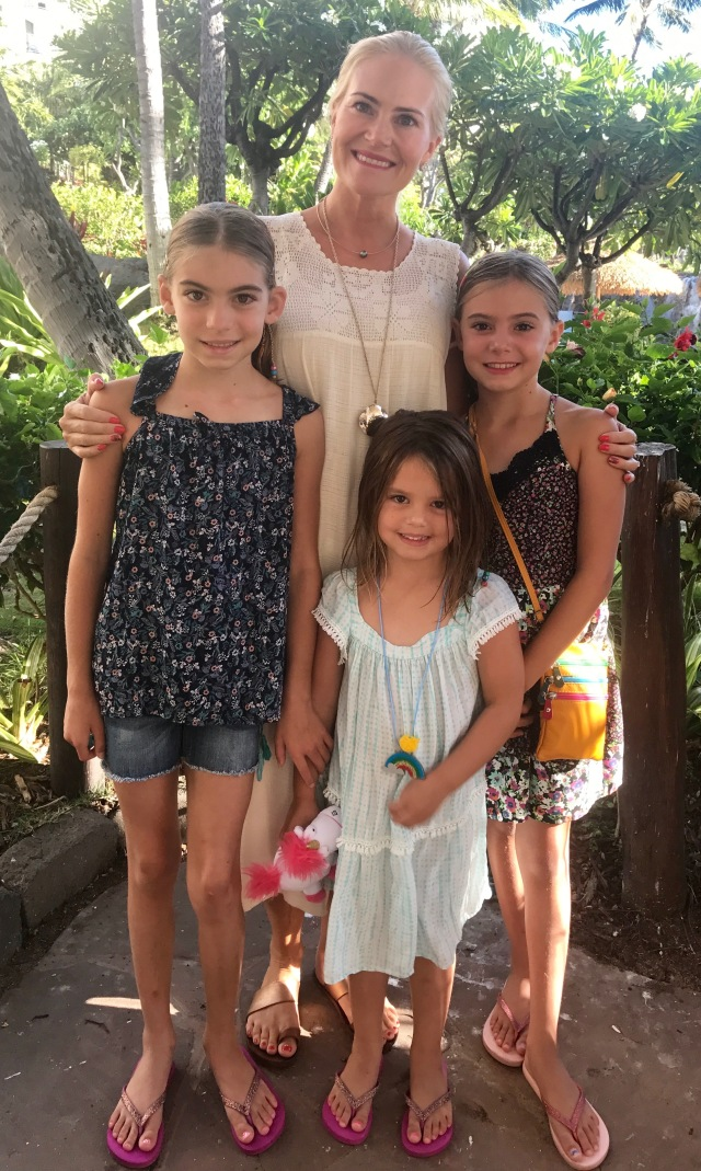 tina girls aug maui 2017