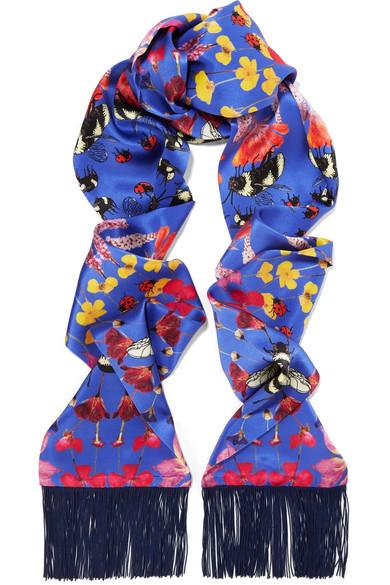 bug scarf silken favours net a porter