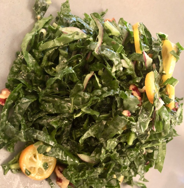 kale salad cafe boulud